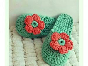 Giầy dép len handmade - shoes crochet