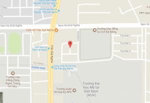 Bán đất mặt tiền Trà Khê 8 bên cạnh trường Cao Đẳng Du Lịch Đà Nẵng