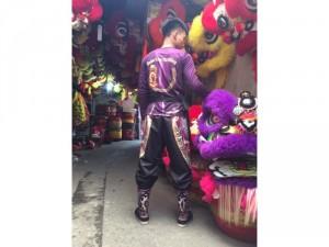 Quần áo múa lân sư rồng in 3D
