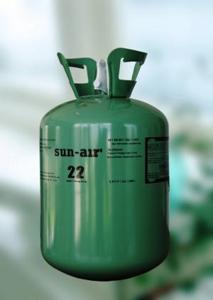 Gas máy lạnh R-22 Sun-air bình 13,6 kg