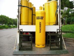 Gas NH3 tinh khiết Sun-air bình 60kg