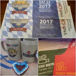 Vé Lễ Hội Bia Đức Oktoberfest Tại Ks Nikko Sài Gòn 23/9/2017 (T7)