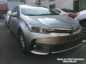 Khuyến Mãi Toyota Altis 2018 1.8 Tự Động Màu Bạc Ghế Nỉ, Mua Góp 120Tr