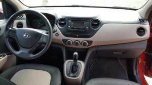 Bán Hyundai Grand i10 1.0AT nhập 2015 số tự động biển SG màu đỏ