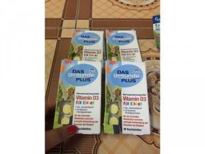 Kẹo ngậm bổ sung vitamin D3 cho trẻ em, 60 viên