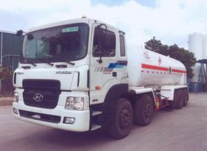 xe hyundai hd360 ô tô xitec chở oxy lỏng