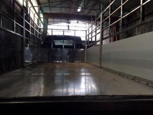 Xe tải hyundai hd99 thùng mui bạt inox bững nhôm mới 2017