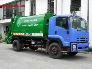 Xe Cuốn Ép Rác Isuzu FVR34L 14 khối - 14m3 - 8 tấn uy tín Sài Gòn