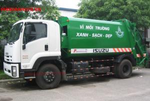 Xe ép rác Isuzu FVR34L 14 khối - 8m3- 8 tấn là một trong những chiếc xe chuyên dụng ép rác hiện đại, chất lượng cao, rất được chú ý trên thị trường hiện nay. Chiếc xe chuyên dụng này sở hữu một thiết kế đẹp mắt với các trang thiết bị hiện đại.