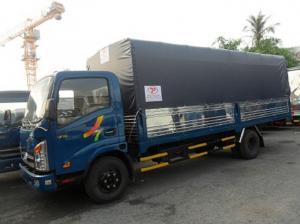 xe tải 1,9 tấn  thùng mui bạt