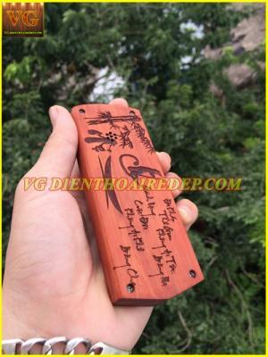 Võ gỗ điện thoại