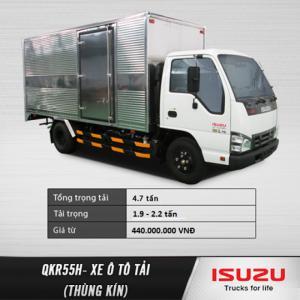 Xe tải nhẹ ISUZU QKR55H 1.9 - 2.2 tấn, 1T9 - 2T2. Đại lý chính hãng. Hỗ trợ trả góp lãi suất ưu đãi.