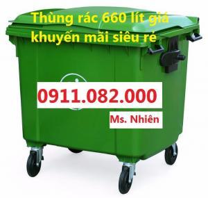Chuyên sỉ- lẻ thùng rác công nghiệp giá rẻ- hạ giá tất cả thùng rác trong kho giá thấp