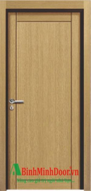 Cửa phòng ngủ giả vân gỗ, cửa nhưa giã gỗ hiện đại hàn quốc