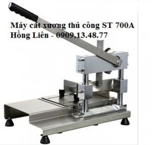 Máy chặt xương giò heo bán bún bò, máy cắt xương heo, xương sườn, xương gà thủ công ST700A