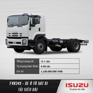 Xe tải trung siêu dài ISUZU FVR34S 9 tấn, 9T. Đại lý chính hãng. Hỗ trợ trả góp lãi suất ưu đãi.
