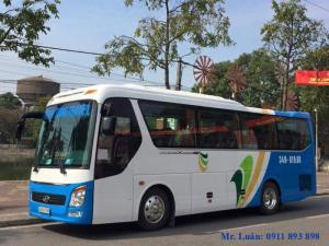 Bán xe 29 chỗ bầu hơi máy Hino Huế, Haeco Universe Hino U29-245