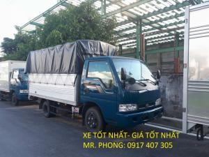 Bán Xe tải KIA 1.25 Tấn - 1.4 Tấn - 1.9 Tấn -  2.4 Tấn - K165s ( K3000S)  - hỗ trợ giá và ngân hàng tốt nhất