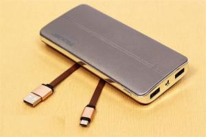 Thiết kế sang trọng, sạc dự phòng Prolink 15000mAh cho hiệu năng dung thực cao lên đến 80%, cho 3 lần sạc đầy, đây là mức hiệu năng khá cao so với các sạc dự phòng khác trên thị trường hiện nay. Với thiết kế 2 cổng sạc: 1A - 2A với cổng USB thông dụng, giúp dễ dàng kết nối với các thiết bị và thích hợp với từng nhu cầu sử dụng của khách hàng.
