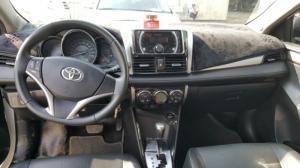 Bán Toyota Vios G 1.5AT màu trắng 2016 số tự động biển SG