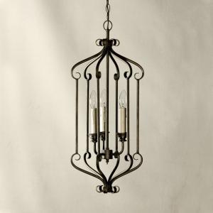Đèn chùm sắt thiết kế theo dòng cổ điển