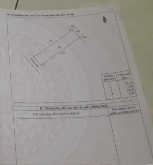 Cần bán lô 5x23,5 đường Hùng Vương, Thị Trấn Trảng Bom
