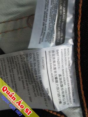 Quần jean xách tay 514 form slim Shop Quần Áo Si GV