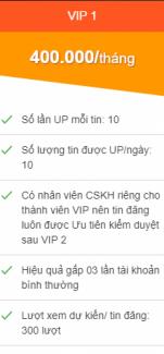 Quy trình Kích hoạt tài khoản VIP trên Mua Bán Nhanh