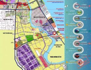 Sea View Khu Đô Thị Biển Đà Nẵng - Hội An , Vị  Trí Cực Đẹp Giá Ưu Đãi