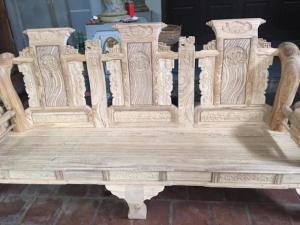 Bộ tần thủy hoàng tay 12  gỗ hương xám