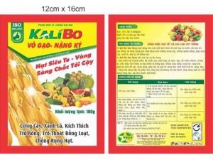 Phân bón lá kali bo và một số sản phẩm phân bón lá khác