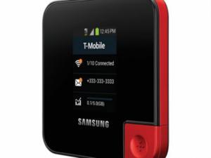 Bộ Phát Wifi 4G Samsung SM V100T Tích Hợp Pin Dự Phòng