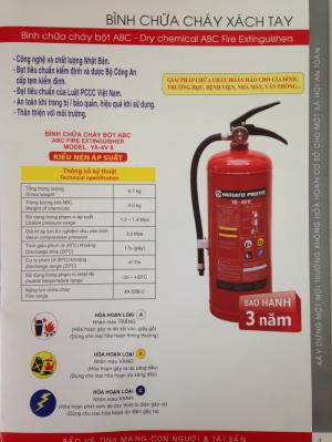 Bình bột chữa cháy Yamato Protec ABC 4kg