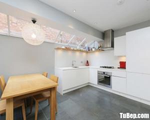 Tủ bếp gỗ công nghiệp cho nhà chung cư