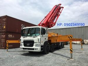 Xe bơm bê tông junjin 38m3 JXZR 38- 5.16HP