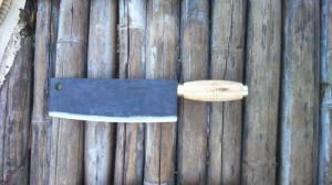 Dao chặt gà vịt cán gỗ
