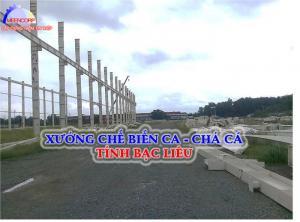 Xây dựng công trình nhà xưởng, nhà kết cấu thép trong sản xuất công nhiệp.