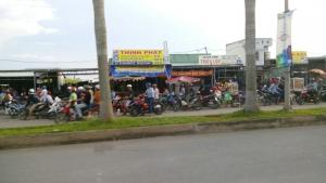 Đất nền trên đường Nguyễn Hữu Thọ. SHR từng Nền. bao thủ tục Công Chứng.