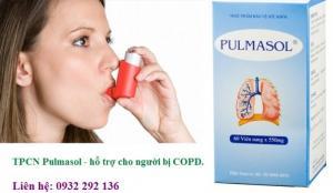 Pulmasol hỗ trợ điều trị bệnh COPD, giá bán 195.000đ/ hộp 60 viên Liên hệ: 0932 292 136