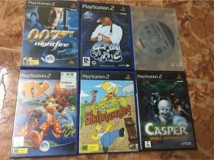 Bán dĩa game gốc PS2
