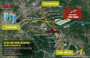 Đất nền gần trường học, chợ, KCN, Khu tái định cư sân bay Long Thành.