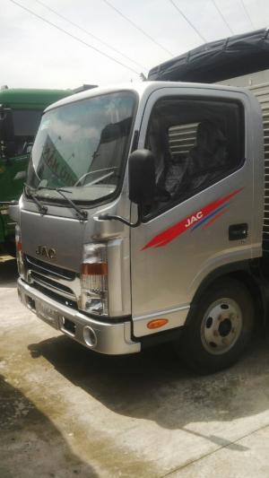 Bán xe tải JAC 3T45đầu vuông, công nghệ isuzu. Hỗ trợ vay ngân hàng 90%