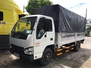 Xe tải isuzu thùng mui bạt vào thành phố tải trọng 2,2 tấn