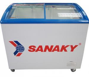Tủ đông SANAKY VH-3099K3, 300L, kính cong,dàn đồng INVERTER