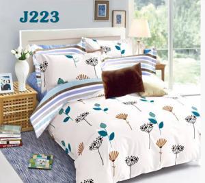Bộ ga gối cotton Hàn Quốc Julia J223
