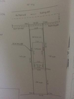 Nhà Đường Nhựa 10m X 53m Ấp 2  Xã Phước Vĩnh An Huyện Củ Chi.