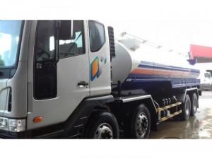 Xe tải Dawoo 4 chân bồn xăng dầu