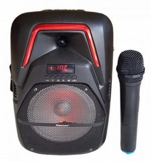 Loa karaoke - loa bluetooth karaoke mini FY-8 tặng 2 mic