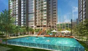 Bán căn hộ ngay trung tâm Lái Thiêu, giá 15tr/m2. Thanh toán 50% nhận nhà