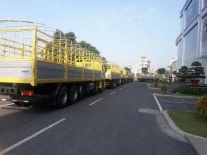 thaco auman 21 tấn gò dầu